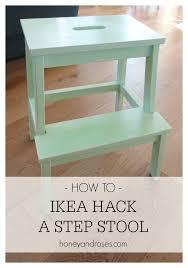 ikea step stool rroom me how to ikea hack a step stool honey roses