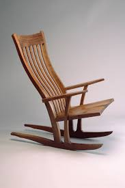 Wooden Rocking Chair Outdoor Mesa Rocking Chair Custom Built Wood Rocking Chair Seth Rolland