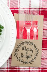 free printable christmas utensil holder utensils free printable