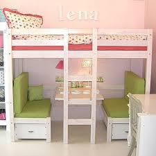 Desk Transforms Into Bed Absolutely Love This Loft Bed With Booth Underneath That Also