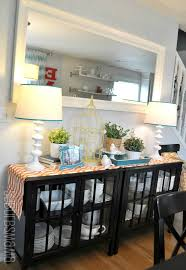 Mirror Over Dining Room Table - dazzling design dining room buffet decorating ideas metal piece