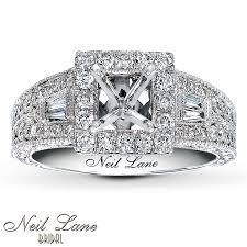Neil Lane Wedding Rings by Jared Neil Lane Ring Setting 3 4 Ct Tw Diamonds 14k White Gold