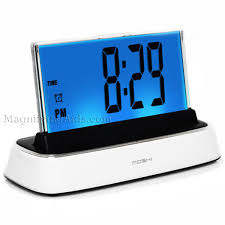 bedroom clocks low vision clocks talking clocks voice activated clocks
