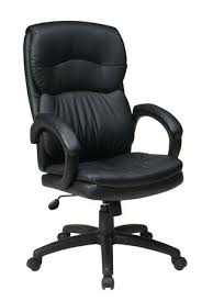Walmart Office Chair Office Star High Back Eco Leather Executive Chair Walmart Canada