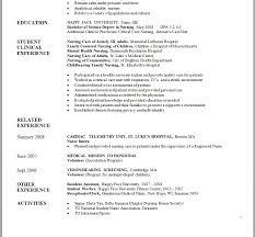 sample nursing student resume resume samples and resume help