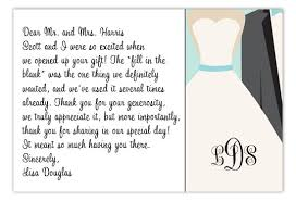 wedding gift thank you notes thank you notes for wedding gifts templates thank you card cool