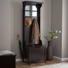 Coat Tree With Bench Hall Tree Storage Bench Entryway Coat Rack Stand Antique Furniture
