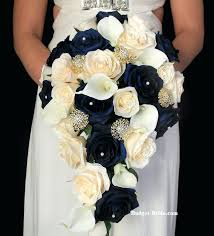Wedding Flowers Blue And White Black And Gold Wedding Bouquets Navy Blue And Gold Wedding Flower