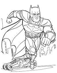 coloring pages of batman and robin batman con la sua batmobile da colorare disegni da colorare