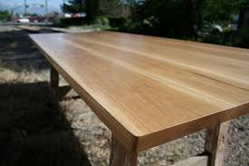 reclaimed oak table top dine on art reclaimed wood table