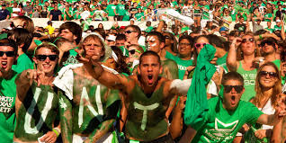 Unt Parking Map University Of North Texas Athletics Ticket Office Students