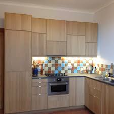 Kitchen Designers Edinburgh Units And Appliances All Ikea Ekestad Oak Tiles From Caoba