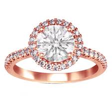 rose coloured rings images Rose gold wedding rings uniquely vintage elasdress jpg