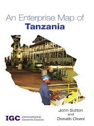 Map Of Tanzania Enterprise Map Of Tanzania Tanzania Steel Mill