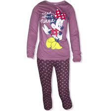 disney minnie mouse womens sleeve pyjamas loungewear
