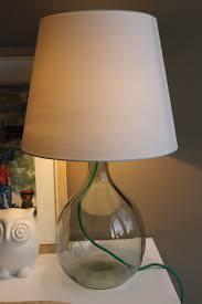 Schlafzimmer Lampe Und Nachttischlampe Leuchte Mit Glasfuß Selber Machen Illumination Pinterest