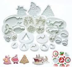 emporte pieces cuisine ilauke 25pcs noël décoration emporte pièces moules à pâtisserie