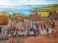 settlement a puritan new pilgrims