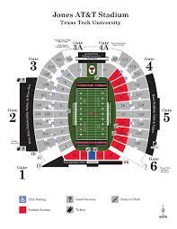 Texas Tech Campus Map 2015 Jones At U0026t Stadium Map By Texas Tech Athletics Issuu