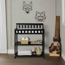Iron Changing Table Navy Changing Table Wayfair