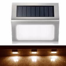 Solar Power Led Outdoor Lights Automatic Light 2leds Solar Power Led Outdoor Lights Ip44