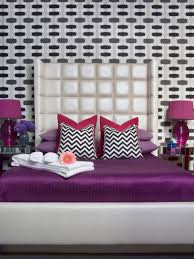 Bedroom Wall Sconces Height Purple Boutique Master Bedroom Hgtv