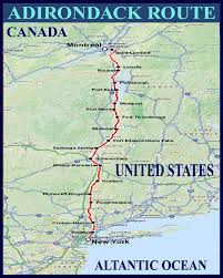 Amtrak Northeast Regional Map by National Train Route Guide And Railway Information Directory
