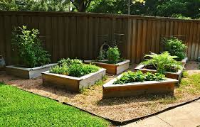 Backyard Raised Garden Ideas Backyard Raised Garden Bed With Various Shapes Raised Bed