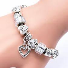 sterling silver charm bead bracelet images Charm bracelet ebay jpg