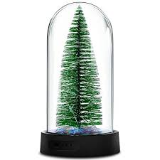 mini christmas tree with lights christmas decoration gift mini christmas tree with led string lights