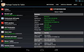 package tracker for tablet android apps on google play