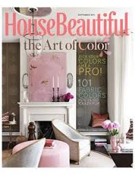 housebeautiful magazine artwork from the cover of september 2011 house beautiful magazine