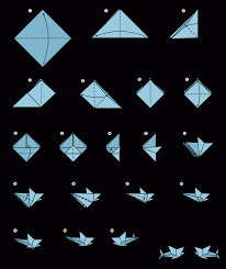 origami origami shark instructions easy origami instructions for