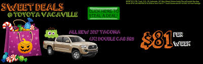 toyota truck deals toyota dealership near vacaville davis fairfield sacramento