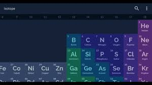 Isotope Periodic Table Isotope Android Periodic Table App Youtube