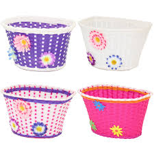 baskets for kids pedalpro bicycle basket flower shopping childs childrens