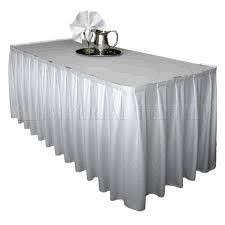 8 ft table skirt 8 foot table skirt white rentals toledo oh where to rent 8 foot