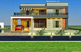 Architectural Design Of 1 Kanal House 3d Front Elevation Com 1 Kanal Old Style House Convert In Modern