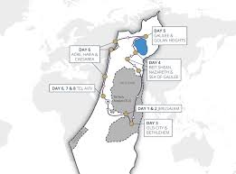 Israel World Map by Israel Guided Tours Cyplon Holidays