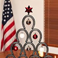 horseshoe christmas tree horseshoe christmas tree handmade