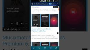 musicxmatch apk how to get musixmatch premium version for free