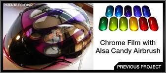 alsa refinish chrome paint and exotic finishes