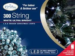 bright white christmas lights benross the christmas lights 300 ultra bright led string chaser