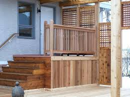 Home Depot Deck Design Gallery Rustic Triple Horizontal Board Handrail Deck Railing Woodworking