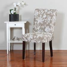 Dining Table Chair Covers Dinnerware Elegant Dining Furniture Decor Ideas With Cozy Parson