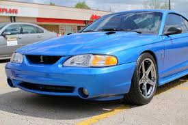 1998 ford mustang cobra for sale sell used 1998 ford mustang cobra bab bright atlantic blue svt