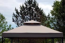 gazebo 8x8 high grade replacement canopy for 8x8 ft garden treasures gazebo