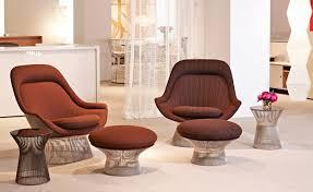 Easy Chair With Ottoman Design Ideas Innenarchitektur Vintage Easy Chair Ottoman Warren Platner For