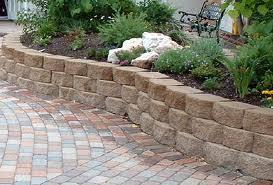 how to build a stone garden wall best idea garden