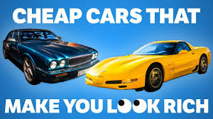cheap coupe cars 7 cheap cars that will make you look rich youtube